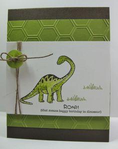 Dinoroar Card