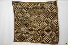 Kuba Cloth ( Shoowa ) Raffia Textile - Congo DRC Congo, Embroidery Thread, Weaving, Textiles, Stitch, Ebay, Clothes, Outfits, Full Stop