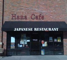 Hana Café Is A Delicious Sushi Teriyaki Anese Korean Cuisine Right In The Heart Of Old Town