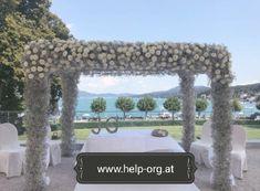 # Carinthia decorations # Wedding ceremony wedding floristChris … - Home Page Flower Decorations, Wedding Decorations, Carinthia, Garden Wedding, Wedding Ceremony, Flowers, Winter, Tent Wedding, Tent Camping