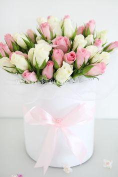 Rosenblox | Blumenbox | DIY | Muttertag | Anleitung | Ideen | freebie | www.benbino.com Diy Rose, Birthday Wishes, Happy Birthday, Wedding Decorations, Table Decorations, Pink Parties, Flower Boxes, Vintage Flowers, Floral Arrangements