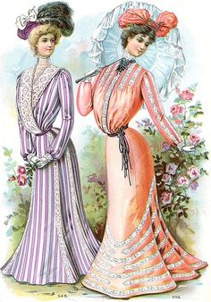 Moda del verano de 1901