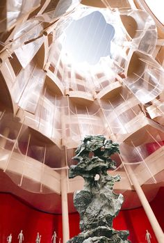 NAMOC competition entry by Frank Gehry #architecture