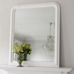 Hampshire Mirror - White Large 100x120 299
