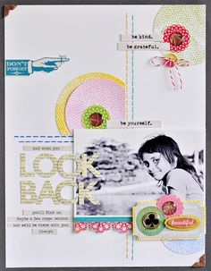 #papercraft #scrapbook #layout.  Sasha's gorgeous layout