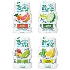 H2wOw Water Enhancer - ORGANIC & Natural Extracts of Real Fruit - a Hint of Organic Stevia - Makes 768 oz of Delicious Fruit Flavored Water H2wOw http://www.amazon.com/dp/B00L8HPX6A/ref=cm_sw_r_pi_dp_PM7jwb0CZ6EDF