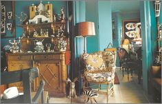 "Iris Apfel/ could not live there but would love it as ""Grandma's House"""