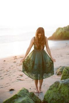 sea weed dress, beautiful