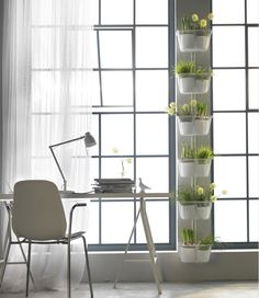 Faites vivre vos murs avec des jardins suspendus. #ikeahome #Ikeafrance #ikea #deco #decoration #design #inspiration #homedeco #homedesign #instadeco #instahome
