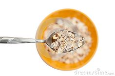 Flakes of healthy cereals for a healthy meal