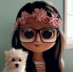 32 new ideas for dogs cartoon illustration character design Cute Girl Drawing, Cartoon Girl Drawing, Cartoon Drawings, Cartoon Art, Cartoon Ideas, Drawing Girls, Girly Drawings, Kawaii Drawings, Cute Cartoon Girl