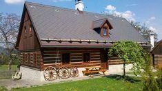Chalupa Brada, ubytování Český ráj - 6104 - ID 6104 Log Cabin Homes, Small Places, Cottage Interiors, Home Fashion, Czech Republic, Tiny House, Shed, Outdoor Structures, Cottages