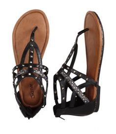 Shop fun & cute girls' sandals at Justice - She'll love our selection of bold gladiator sandals, fashion wedges & more! Cute Sandals, Girls Sandals, T Strap Sandals, Cute Shoes, Me Too Shoes, Sock Shoes, Shoes Heels Boots, Heeled Boots, Shoes Sandals