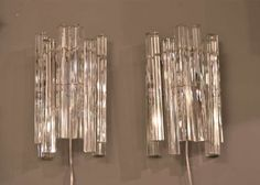 Camer Sconces - Three available | From a unique collection of antique and modern wall lights and sconces at http://www.1stdibs.com/furniture/lighting/sconces-wall-lights/