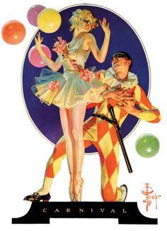 Carnival by J. C. Leyendecker, February 25, 1933