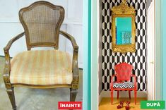 Nu mai arunca mobila veche – Iată cum o poți refolosi Cool Furniture, Ikea, Restaurant, Cool Stuff, Chair, Interior, Modern, Design, Home Decor