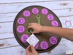 clock learning activity