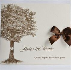 ÁRVORE - Convite de Casamento - Linha Soft - 23 x 20 cm