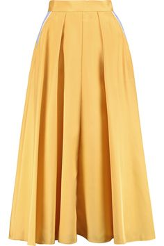 Shop on-sale Roksanda Lilian pleated silk-blend skirt. Browse other discount designer Skirts & more on The Most Fashionable Fashion Outlet, THE OUTNET.COM