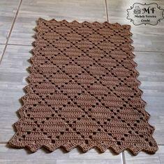 Crochet doilies placemat rugs new Ideas Crochet Mat, Crochet Carpet, Crochet Home, Filet Crochet, Baby Blanket Crochet, Crochet Table Runner, Crochet Tablecloth, Crochet Doilies, Crochet Flowers