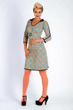 Buy your new dress on newdress.dk  Margot dress: Hanna Hideaway Spring 2016 #newdress_dk #vintagedress #retrodress