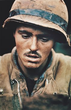 Khe Sanh, Vietnam War. 1968. Photo by Robert Ellison.