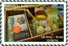 ****Purr Packs Prize Pack #Giveaway (For Cats)!**** Ends 12/20/14!!  Go Here~~> http://www.krazycouponclub.com/?p=44371