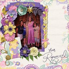 {All Tangled Up} Digital Scrapbook Collection by Magical Scraps Galore, available at Gingerscraps and The Digichick  http://store.gingerscraps.net/All-Tangled-Up-collection.html  http://www.thedigichick.com/shop/All-Tangled-Up-collection.html     #magicalscrapsgalore  #disney #scrapbook