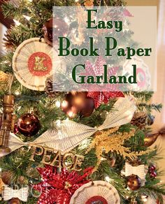 EPBOT: A New Kind Of Book Paper Garland- looks so awesome!