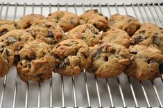 Chocolate chip cookies by the best NZ Master-chef. Best Choc Chip Cookies, Chocolate Chip Biscuits, Chewy Chocolate Chip Cookies, Cookies Soft, Delicious Chocolate, Chocolate Recipes, Baking Recipes, Cookie Recipes, Breakfast Dessert