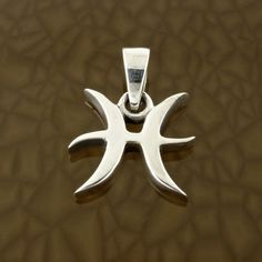 Pisces-Zodiac-Symbol-Pendant-in-Solid-Sterling-Silver-Symbolic-Charm