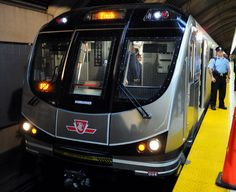 The Red Rocket - Toronto Transit Commission (TTC) new subway train built by Bombardier. Toronto Subway, Underground Tube, Rail Train, Toronto Travel, Moving To Canada, Rail Transport, U Bahn, Light Rail, My Town