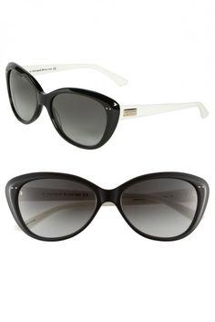 kate spade new york 'angelique' 55mm retro sunglasses