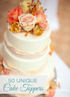 Cake toppers we love! {Belle Fiori}