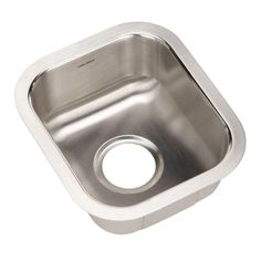 Charmant Club Series Undermount Stainless Steel 13 In. Single Bowl Bar/ Prep Sink,  Lustrous Satin