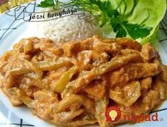 Falešný stroganoff z kuřecího masa – tohle trumfne i originál. Turkey Recipes, Keto Recipes, Chicken Recipes, Cooking Recipes, Modern Food, Meat Chickens, Food 52, Pork, Food And Drink