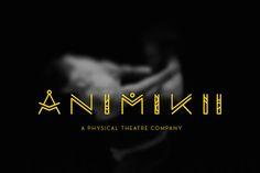 graphic typography design for animikiitheatre.com by willmcgrath.co.uk