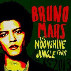 Neal Blaisdell Arena Bruno Mars The Moonshine Jungle Tour2014 Honolulu HI  http://www.brunomars.com/moonshinejungletour  #808StateHooligans