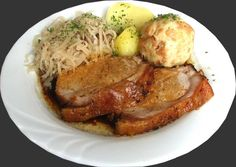 Schweinsbraten (Roast Pork) is one of the most traditional dishes in Austria. Description from austrianfood.buyorderonlineshopping.com. I searched for this on bing.com/images