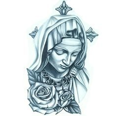 #SkinEvolutionTattoo #KONOMI #konomiangel #drawing #art #tattoo #design #blackandgray #realistic #portrait #Pieta #VirginMary #タトゥー #聖母マリア #ピエタ