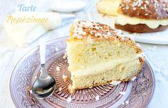 La vraie tarte tropézienne : une délicieuse brioche à la crème ! Clique sur la photo pour voir la recette :)