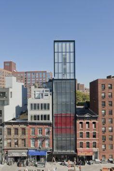Sperone Westwater Gallery,  New York City (Foster + Partners)  #juxtapositon #Design #architecure