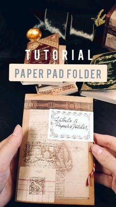 Scrapbook Journal, Journal Notebook, Junk Journal, Journals, Bullet Journal Cover Ideas, Bullet Journal Writing, Bullet Journal Aesthetic, Vellum Paper, Cardboard Paper
