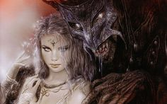 The Beautiful Gothic Fantasy Artwork of Luis Royo.