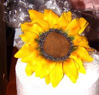 Cakes of the Hamptons:  How to Make a Gumpaste Sunflower  _______________...