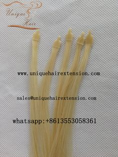Newest keratin hair extensions, 100% premium quality human hair extensions, manufacturer by Qingdao Unique Hair Products Co.,Ltd. a professional human hair extensions factory in China for more than 17 years, the hair very soft, tangle free no shedding, welcome to email us for more information sales@uniquehairextension.com https://www.uniquehairextension.com whatsapp: +8613553058361