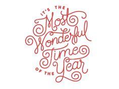 Lettering Time: 30 fantásticos lettering muy navideños