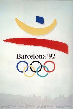 Great memories. Infiziert mit dem Olympia-Virus. Vielleicht lässt sich ein kleines Poster auftreiben?  Barcelona Olympics, 1992