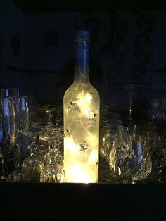 Wofuer leere Weinflaschen nutze sind