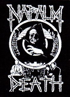 Napalm Death- Life? cloth patch (cp963)